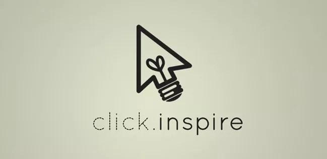 Click Inspire - Inspiration logo designs #4