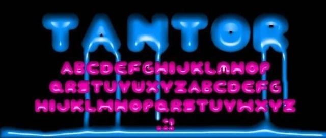 TANTOR Font