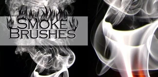 smoke brushes 06 - Free Photoshop Smoke Brushes - 180+ Awesome Brushes