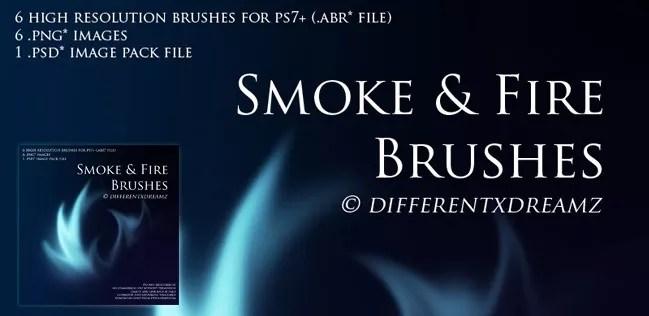 smoke brushes 15 - Free Photoshop Smoke Brushes - 180+ Awesome Brushes