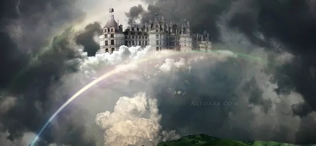 Castle in the Sky - 19 Photo Manipulation Tutorials for Photoshop #2