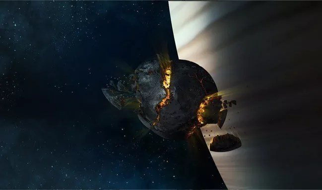 Create an Exploding Moon Orbiting a Gas Giant - 19 Photo Manipulation Tutorials for Photoshop #2