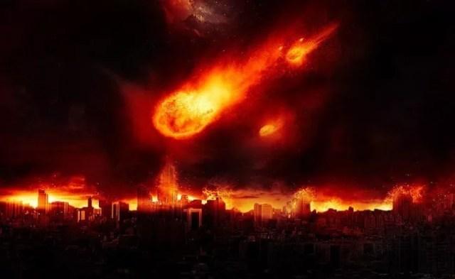 Dramatic Meteor and Burning City - 19 Photo Manipulation Tutorials for Photoshop #2
