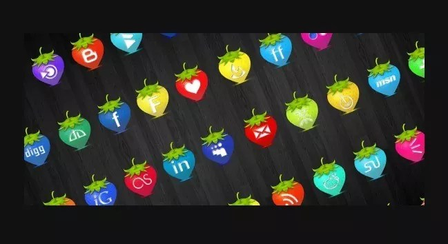 Social icons12 - 25 Set of Amazing Free Social Icons