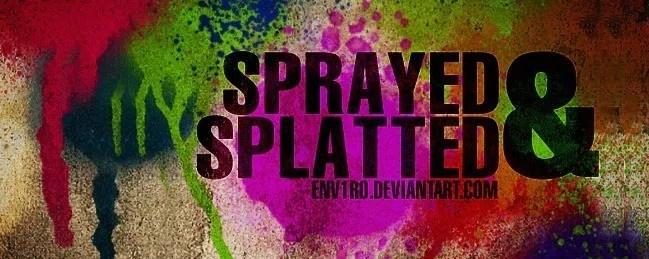 SprayPaintBrush 04 - 100+ Free Spray and Splatter Paint Photoshop Brushes