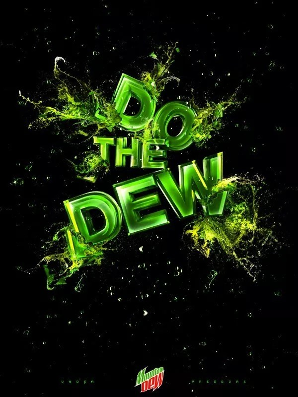 dew - Amazing and inspiring typography designs #5