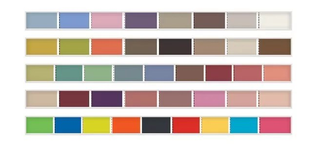 COLOR - 13 New Color Trends For 2012