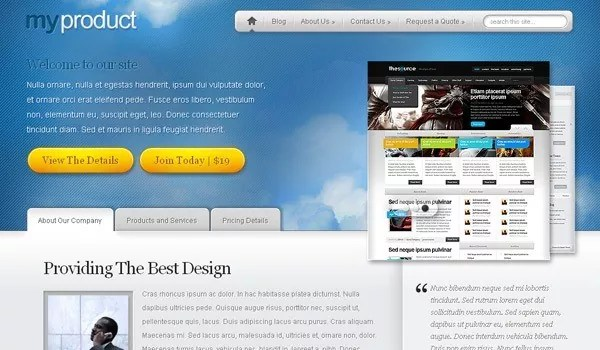 Elegant Themes - 15 of The Best Product Showcase WordPress Themes