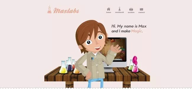 Maxlabs - Web Design Inspiration: Welcome Messages/Pages