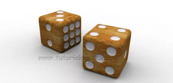 dice model - How to Create 3D Rolling Dice In Photoshop
