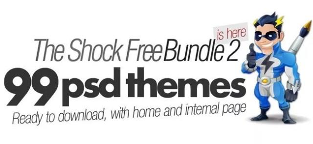shockbundle logo - Best freebie of the year: 99 High quality PSD templates