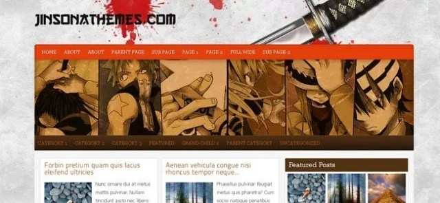 wordpress theme1 - Different Type of Free High Quality WordPress Themes