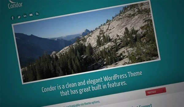 Condor Theme - Ultimate Collection of FREE PSD Website Templates 2011