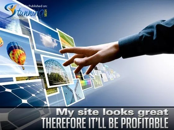 my site looks great therefore it will be profitable - Top 5 Common Business Misconceptions On Online Marketing