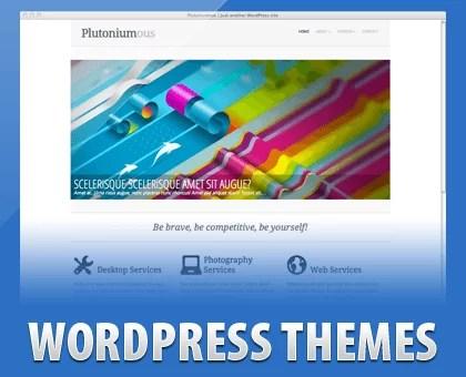 demo1 - Plutoniumous Free WordPress Theme