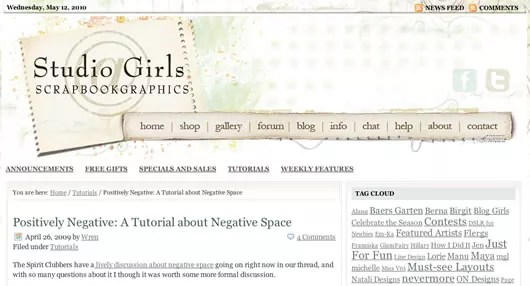 negative space tutorials 5122 - Set of 20 Tutorials and Articles of Negative Space