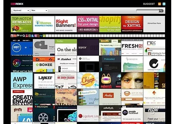 CSS Remix - 25+ Best CSS Web Design Galleries