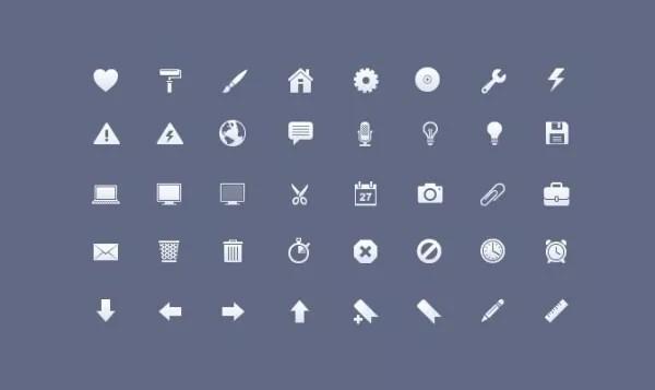 free pictogram icon set 03 free iphone toolbar e1331476868310 - Free Pictogram Icon Sets