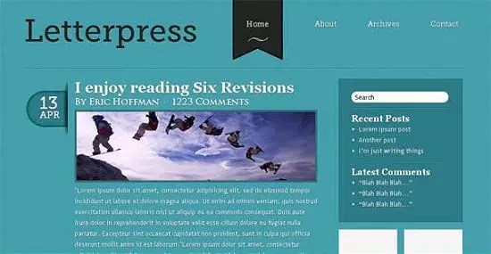convert blog layout 1 - Awesome Convert Blog Layout PSD to HTML/CSS Tutorials