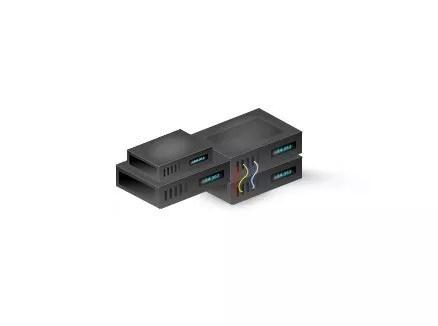 3D Hosting Server Result - How to make 3D Hosting Server in Photoshop