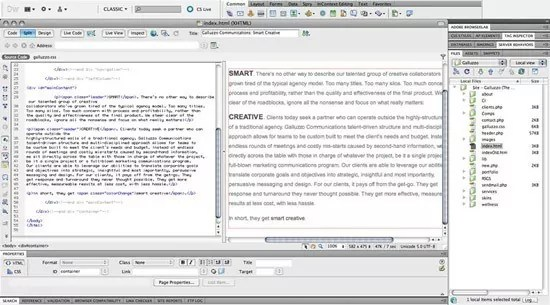 dreamweaver - 5 HTML Editors