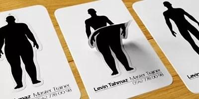 levin tahmaz - 30 Creative business card designs