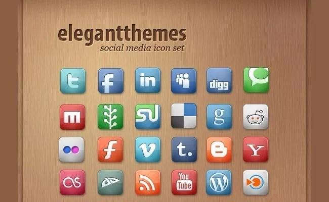 SocialMediaIcon1 - Free Social Media Icons 18 Sets