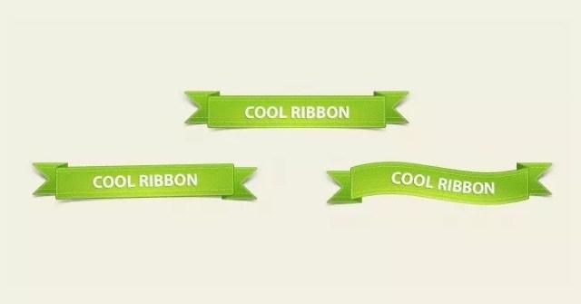 270411 Ribbons prev - PSD Free Web Elements