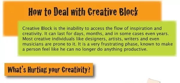 5 - How Designers Can Deal With a Creative Block