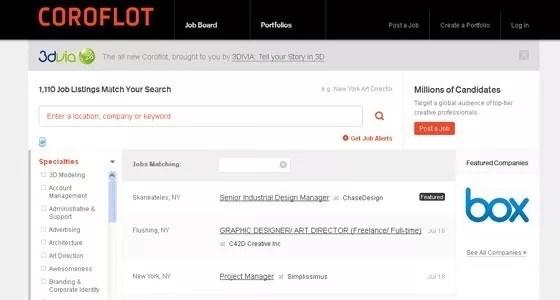 Coroflot - Top Creative Graphic Design Freelance Jobs Boards