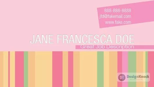 Designing a Chic Striped Business Card with Photoshop 14 - Designing a Chic Striped Business Card with Photoshop