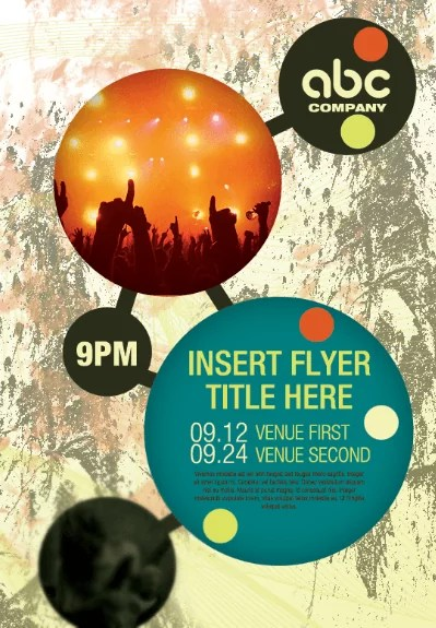 create flyer for event