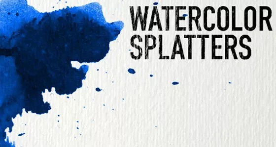 Watercolor Brushes - Collection of Free Photoshop Brushes