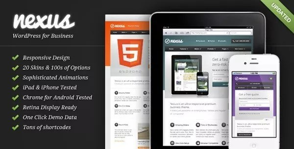 html5 templates4 - Great Examples of HTML5 Responsive Website Design