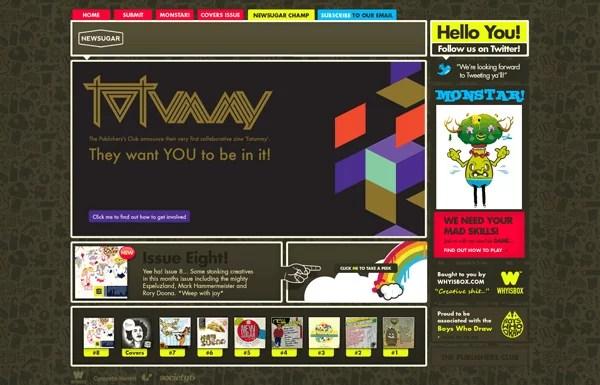 magazine media websites1 - Great Web Design Examples of Magazine and Newspaper Based Websites