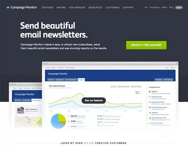 12 homepage - A Collection of Creative Homepages