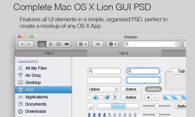 Mac App Mockup Kit - Free PSD Web Elements