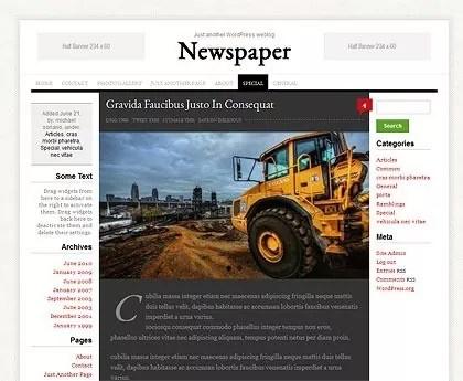 newspaper0 - Newspaper Free WordPress Theme