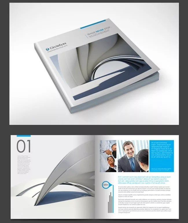 Brochure9 - Brochure Design Collection for Inspiration: 30+ Creative Examples