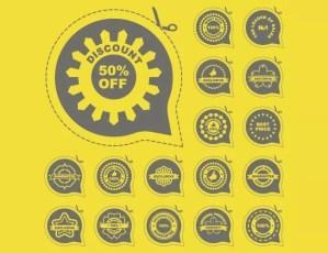 Badge label stickers - Badge-label-stickers