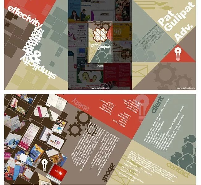 Brochure19 - Brochure Design Collection for Inspiration: 30+ Creative Examples