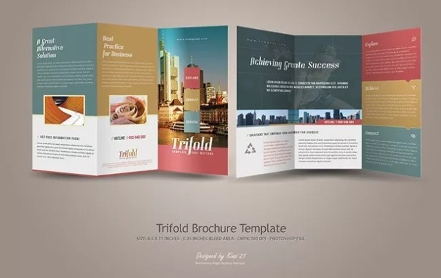 Brochure29 - Brochure Design Collection for Inspiration: 30+ Creative Examples