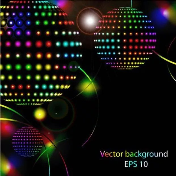 eps large vectorgab - Eps Abstract Awesome Glob Lighting Vector