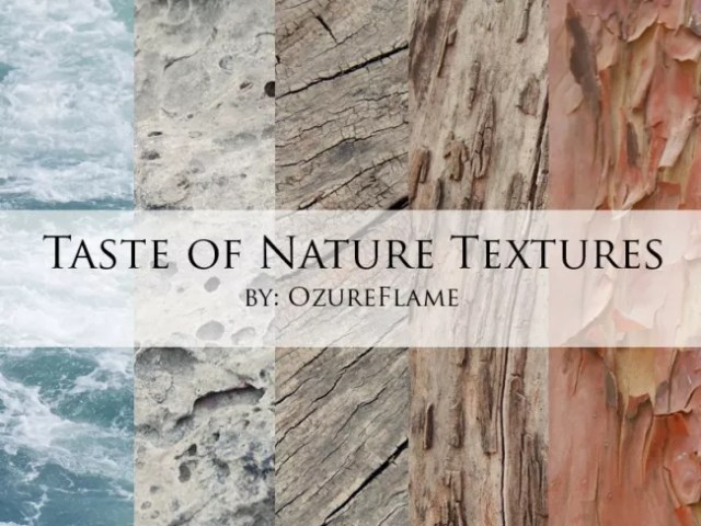 Taste of Nature Textures by OzureFlame e1359619920469 - 200+ Free High Quality Grungy Dirty Wood Textures