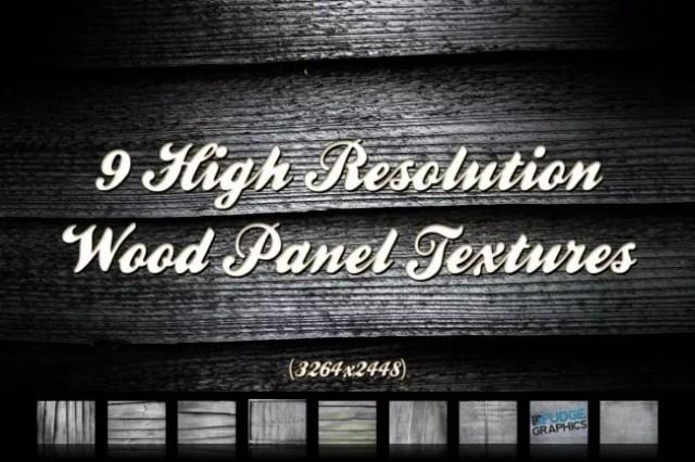 9 High Resolution Wood Panels Texture