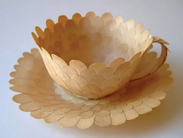 Paper object 10 - Showcase of 20 Stunning Paper Objects