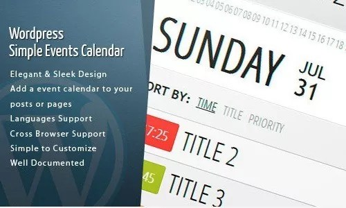 wp calendar plugin event - Amazing WordPress Calendar Plugins