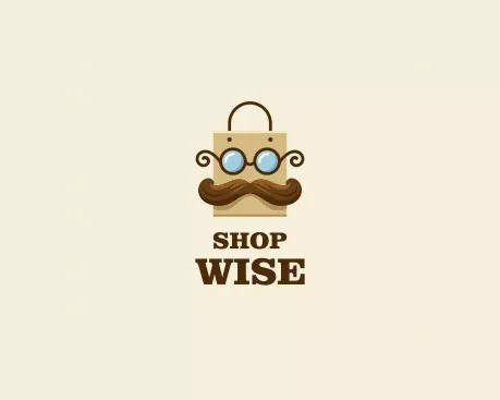 shop wise - Creative Logo Designs To Inspire And Increase Customers