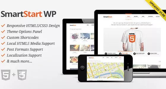 Smart Start - 30+ HTML5 Responsive WordPress Themes