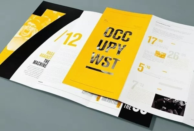 25 creative brochure designs for inspiration mameara for Creative brochure designs